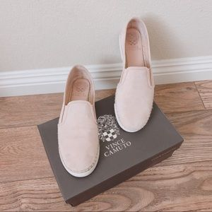 Vince Camuto light pink slip on sneaker shoes